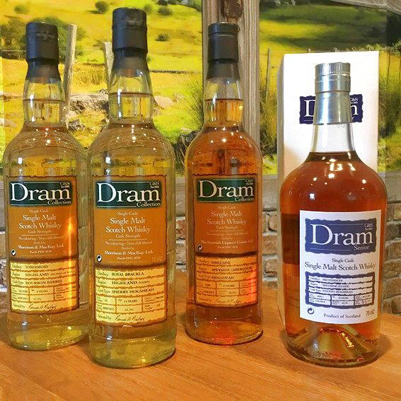 C&S Dram Whiskys bei Weltfein